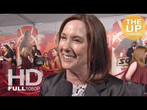 Solo: A Star Wars Story – Producer Kathleen Kennedy interview at premiere