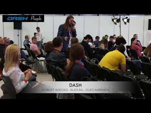 Выступление команды Dash на Blockchain Conference Moscow 2018