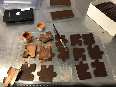 Vacuum forming and the artisan chocolatier