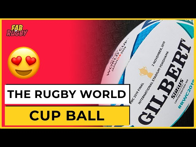 Why is the Rugby World Cup ball called 'Sirius'?
