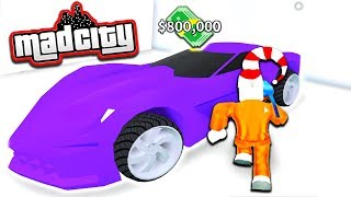 BUYING THE STINGRAY IN ROBLOX MAD CITY