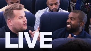 James Corden Debuts Airpool Karaoke With Kanye West   | ET Canada LIVE