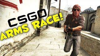 "Counter-Strike Global Offensive (CSGO) - ARMS RACE ""GET OFF THE ROOF"" #4"