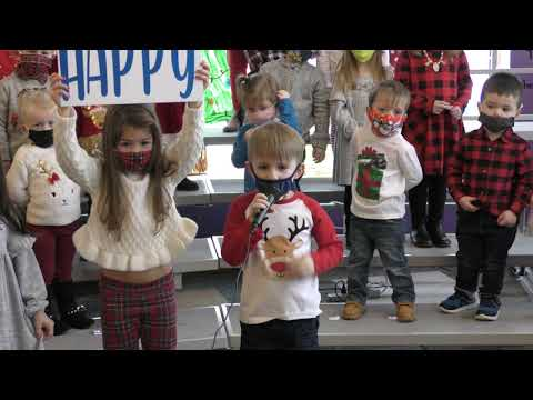 Tiny Tykes Academy Christmas Show 2020- 3rd Song Wish We You a Merry Christmas