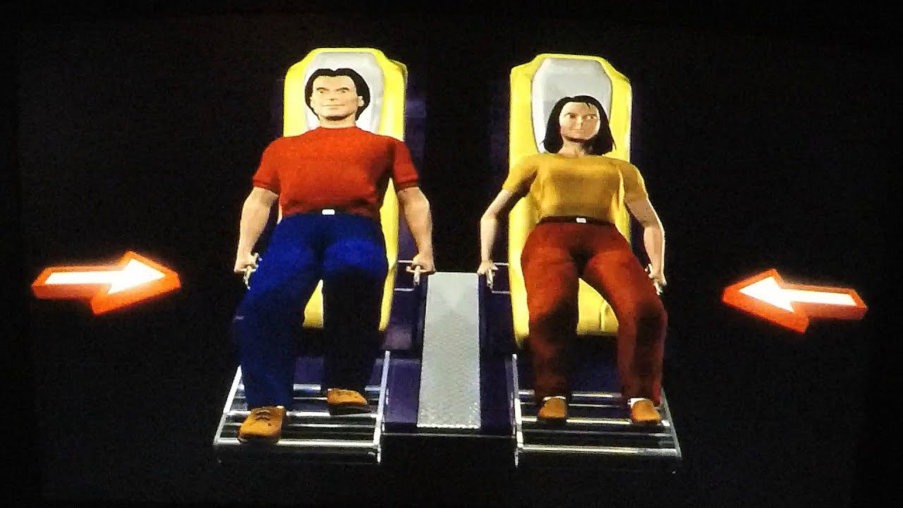 Mad Wave Motion Theater Arcade Game Ride: Talk About Some ...