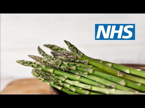 Healthy Eating: Creamy asparagus soup