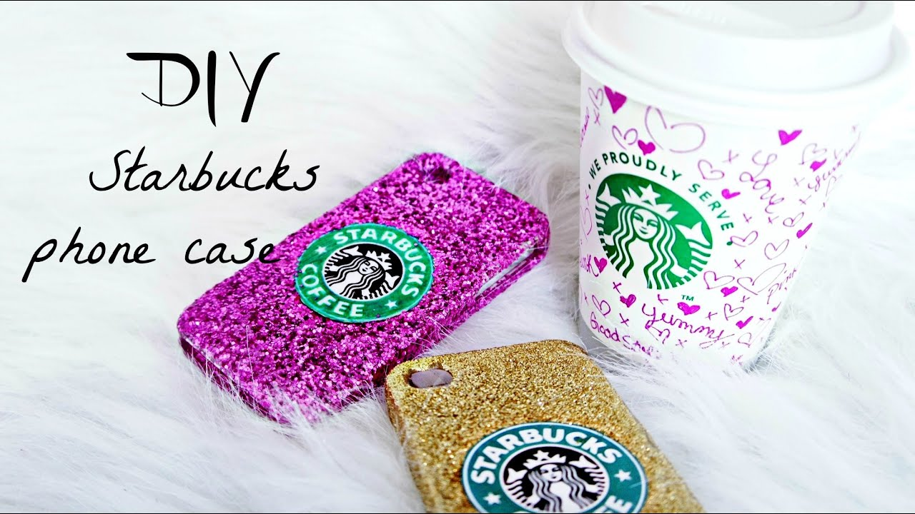 Cute Do Not Touch My Phone Wallpaper Diy Starbucks Phone Case Youtube