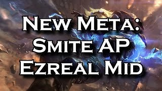 New Meta: Smite Ap Ezreal Mid With Runeglaive | League of Legends LoL