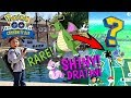 OUR FIRST POKEMON GO VIDEO!! SHINY DRATINI HUNTING IN THE PARK!! NEW Community Day Event! CAUGHT IT!