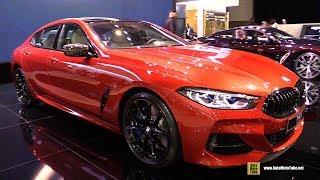 2020 BMW M850i Gran Coupe - Exterior Interior Walkaround - 2019 Dubai Motor Show
