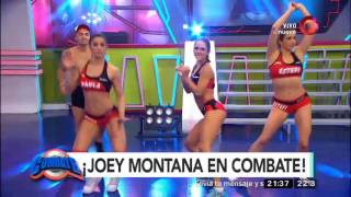 Mirá a Joey Montana en Combate