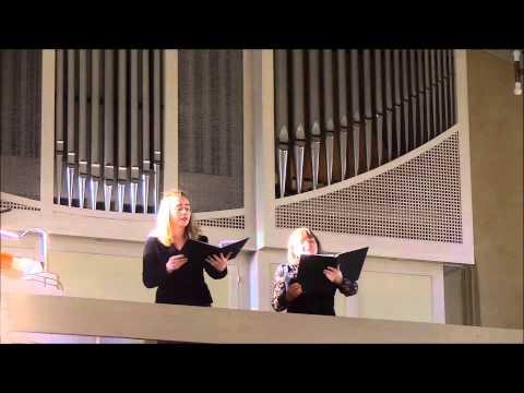Ave Maria (Duett) von C. Saint-Saens (1835-1921)