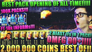FIFA 16: PACK OPENING (DEUTSCH) - FIFA 16 ULTIMATE TEAM - 2 MIO BEST OF! DAT PACKS [10x INFORMS 90+]