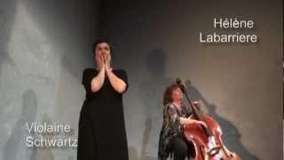 Le Fiacre Violaine Schwartz Hélène Labarrière