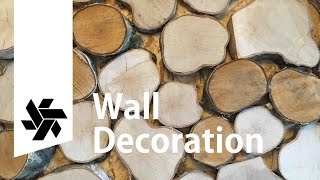 Wall Decoration // Scrap Waste Fire Wood Project 1