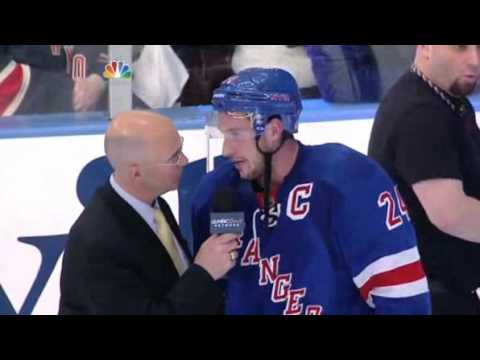 Ryan Callahan: Post Game Interview 4/26/12