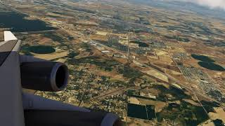 Boeing 747-400 flying over Colorado ++ Aerofly FS 2
