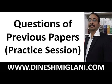 BEST PRACTICE SESSION ON ENGLISH GRAMMAR : QUESTIONS OF PREVIOUS PAPERS