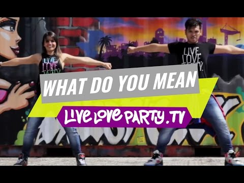 What Do You Mean by Justin Bieber  | Zumba® Fitness | Live Love Party