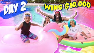 Last to Get Out of the Pool Wins $10,000