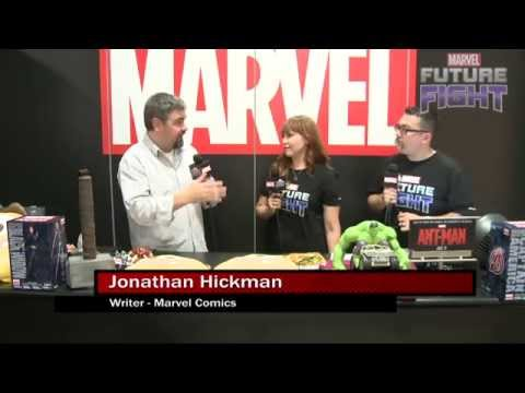 Secret Wars Writer Jonathan Hickman Debriefs on Marvel LIVE! at San Diego Comic-Con 2015