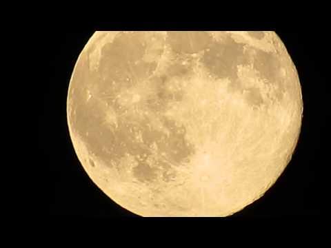 Moon observation - Vojvodina,Serbia 12.07.2014.