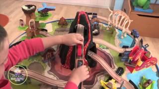 Kidkraft Dinosaur Wood Train And Table Set   17961