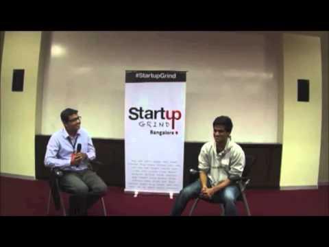 Hari Karunanidhi (Interview Street & Hacker Rank) at Startup Grind Bangalore