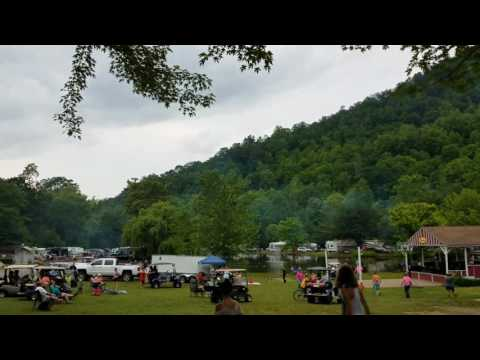 Cherokee, NC, Happy Holidays RV Park, Memorial Day  2017