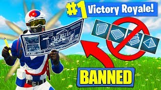 WINNING Fortnite With NO BUILDING!! [Challenge]