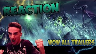 World of Warcraft — Реакция на Все Трейлеры(REACTION ALL CINEMATIC TRAILERS)