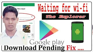 HOW TO FIX PLAY STORE DOWNLOADING ERROR, WAITING FOR WI-FI, PENDING DOWNLOAD, ETC