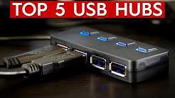 ✅ TOP 5: Best USB Hub 2019