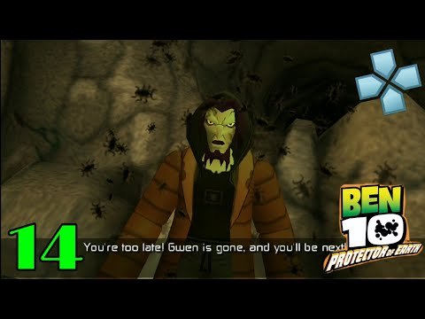 Ben 10 Protector Of Earth Part 14 Bayou PPSSPP Play On Android