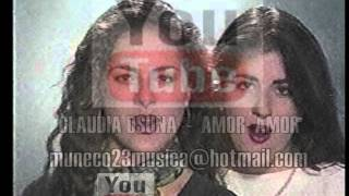 CLAUDIA OSUNA   AMOR AMOR  CLIP SHOW DE LAS ESTRELLAS