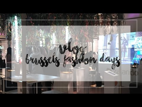 VLOG ♡ BRUSSELS FASHION DAYS with ZALANDO