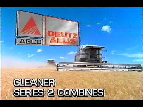 1990's AGCO Deutz Allis Gleaner R52 Series 2 VHS