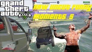 GTA5 - Raw uncut Funny Moments 5