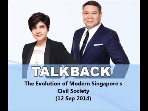 938LIVE Talkback - The Evolution of Modern Singapore's Civil Soceity (12 Sep 2014)
