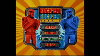Plug n Play Games: Rock 'Em Sock 'Em Robots