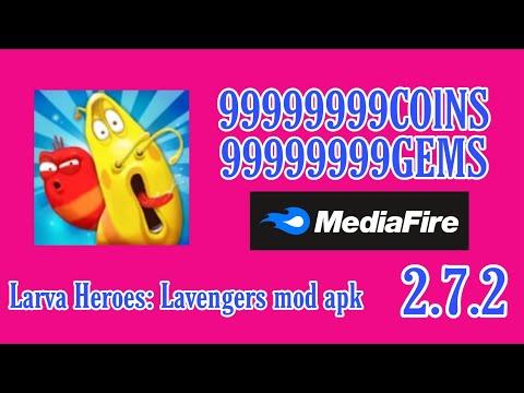 larva-heroes:-lavengers-mod-apk