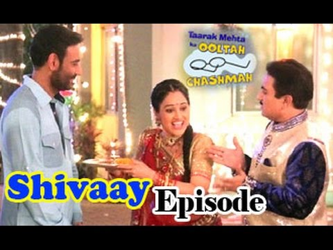 Ajay Devgn on Taarak Mehta Ka Ooltah Chashma - Shivaay Episide | Abigail Eames | Latest Full Video
