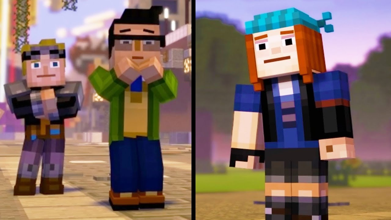 Leave With Petra Vs Stay In Beacontown Minecraft Story Mode