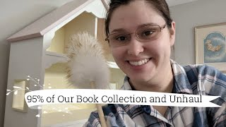 95% of Our Book Collection and Unhaul | 2019 Edition