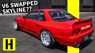 Nissan Skyline With a 350Z Motor?? VQ Swapped R32 That Actually Sounds Good