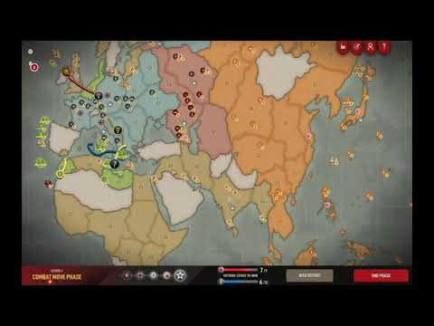 Axis and Allies 1942 Online: Recovering from a bad opener #4 |