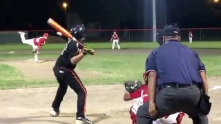 10 year old Gunnar out of park home run.  Kissimmee little league.