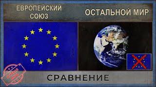 ЕВРОПЕЙСКИЙ СОЮЗ vs ОСТАЛЬНОЙ МИР ★ Сравнение армий [2018]