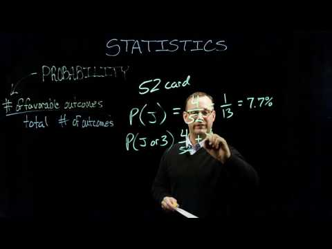 Sport Psychology    Statistics - Probability - Part 1 of 2