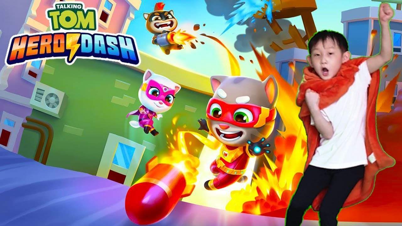 ⚠️ NEW GADGET ALERT in Talking Tom Hero Dash in REAL LIFE (NEW GAME TRAILER) 📢